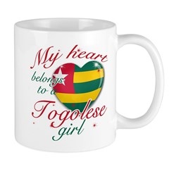 Togolese Valentine's designs Mug