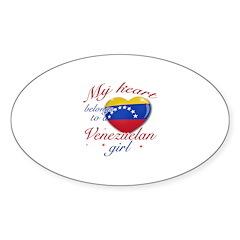 Venezuelan Valentine's designs Decal