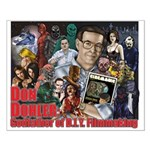 Don Dohler w bkgd Small Poster