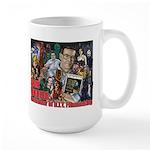 Don Dohler w bkgd Large Mug