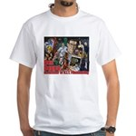 Don Dohler w bkgd White T-Shirt