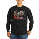 Don Dohler w bkgd Long Sleeve Dark T-Shirt