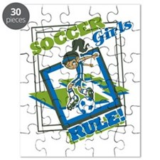 Soccer Girls Rule Puzzle