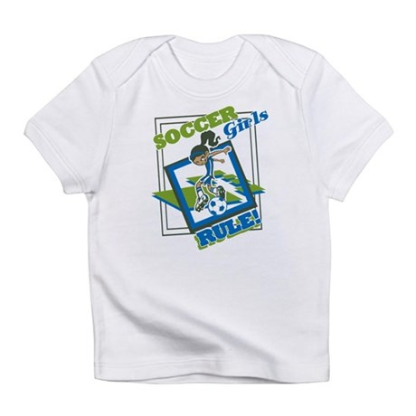 Soccer Girls Rules Infant T-Shirt