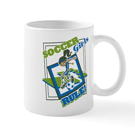 Soccer Girls Rules Mug