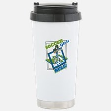 Soccer Girls Rules Travel Mug