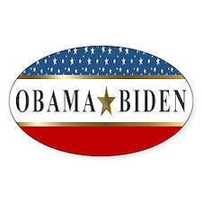 Obama Biden Star 2012 Decal