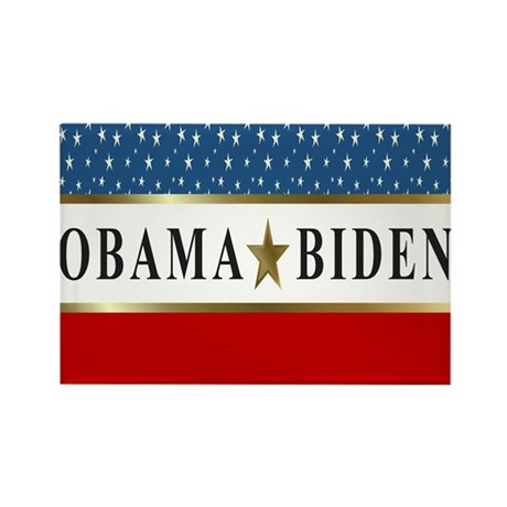 Obama Biden Star 2012 Rectangle Magnet