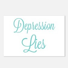 Depression Lies Postcards (Package of 8)