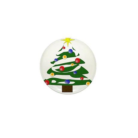 Christmas Tree Mini Button (10 pack)