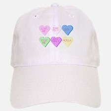 Mixed Heart Candies Baseball Baseball Cap
