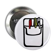 """Pocket Protector 2.25"""" Button (100 pack)"""