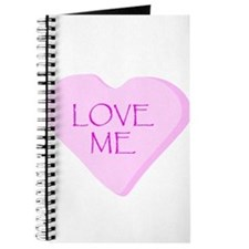 Love Me Candy Heart Journal