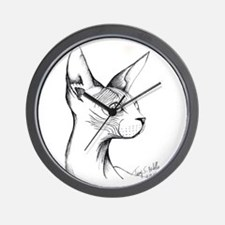 Hairless Profile Wall Clock