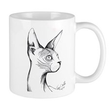 Hairless Profile Mug