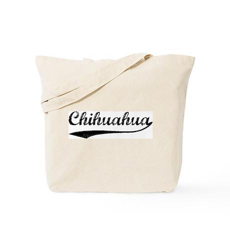 Vintage Chihuahua Tote Bag