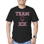 Team Women Men's Fitted T-Shirt (dark)