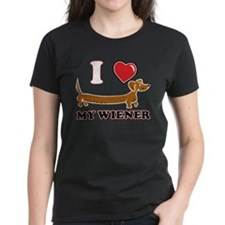 Weiner on Black copy T-Shirt