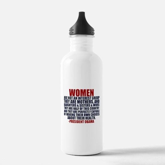 Pro Choice Women Water Bottle