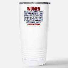 Pro Choice Women Travel Mug