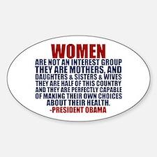 Pro Choice Women Decal