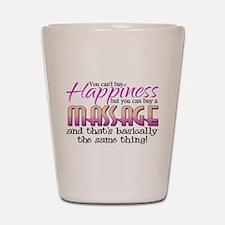 Happiness Massage Shot Glass