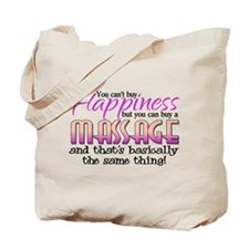 Happiness Massage Tote Bag