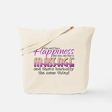 Happiness Massage Tote Bag