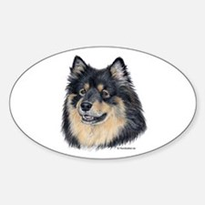 Finnish Lapphund Oval Decal