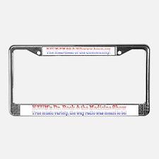 KZUM's Dr. Rock License Plate Frame