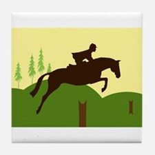Funny Ponies Tile Coaster