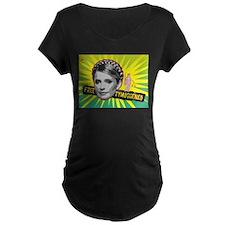 free-yulia-tymoshenko Maternity T-Shirt