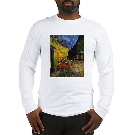 Van Gogh Cafe Terrace At Night Long Sleeve T-Shirt