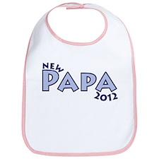 New Papa 2012 Bib