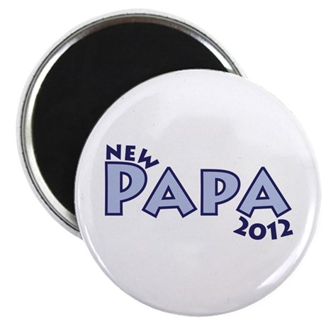 New Papa 2012 Magnet