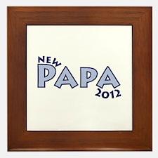 New Papa 2012 Framed Tile