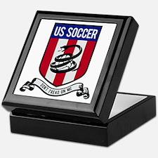 USA Soccer Keepsake Box