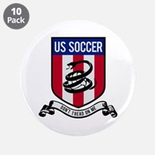 """USA Soccer 3.5"""" Button (10 pack)"""