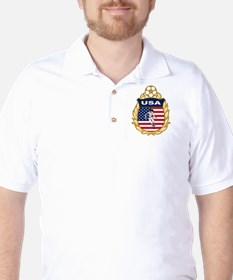 USA Soccer Golf Shirt