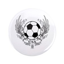 "USA Soccer 3.5"" Button"
