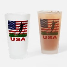 USA Soccer Pint Glass