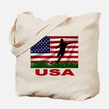 USA Soccer Tote Bag