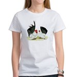 Japanese Black White Bantams Women's T-Shirt