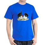 Japanese Black White Bantams Dark T-Shirt