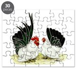 Japanese Black White Bantams Puzzle