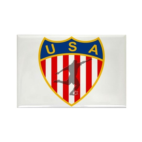USA Soccer Rectangle Magnet (10 pack)