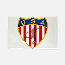 USA Soccer Rectangle Magnet (100 pack)