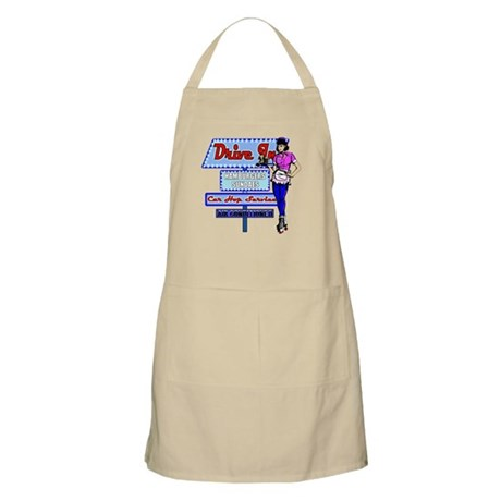 At the Drive In Retro 50's Memories Apron