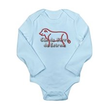 Estrela Long Sleeve Infant Bodysuit