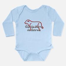 Estrela Long Sleeve Infant Bodysuit
